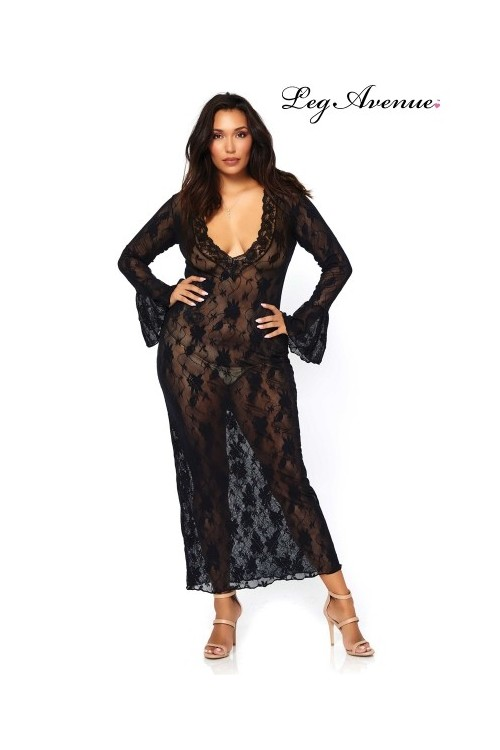 Robe longue stretch Queen...