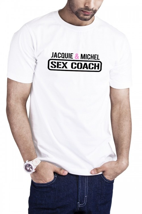 T-shirt Sex Coach blanc -...