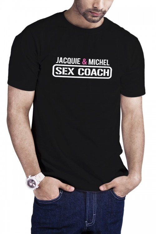T-shirt Sex Coach noir -...