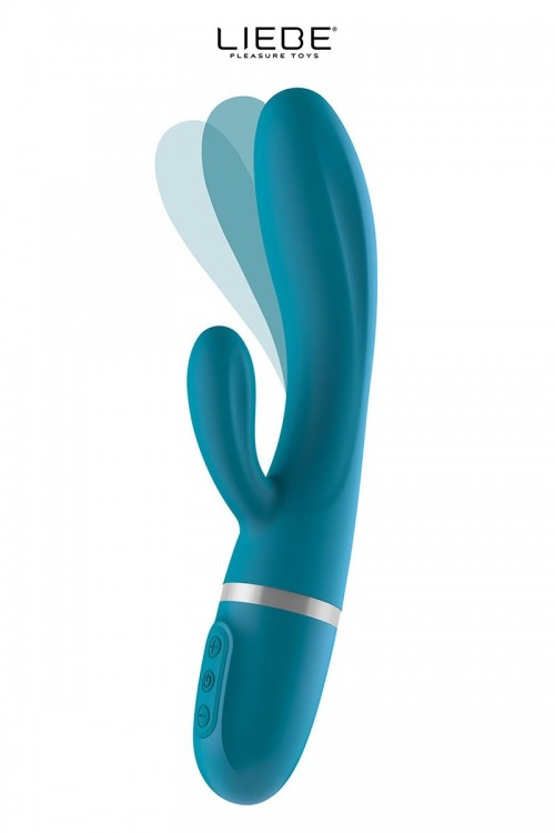 Vibro Rabbit flexible Bend...