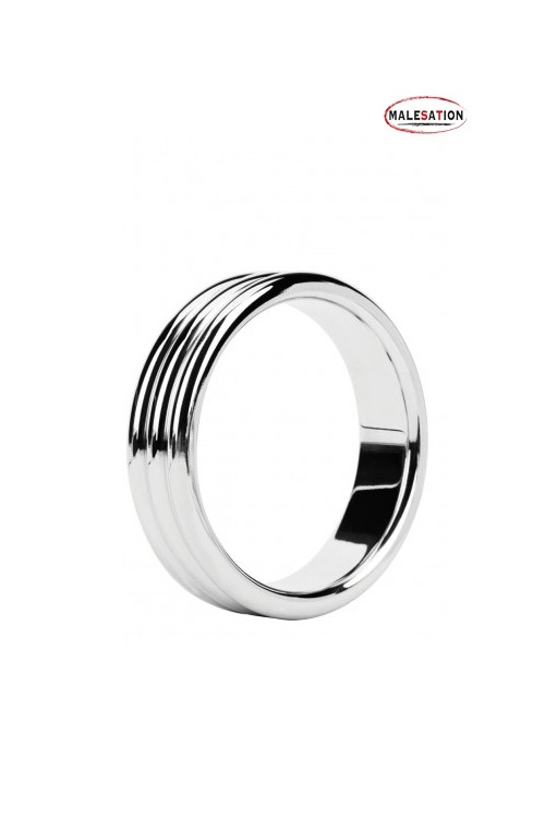 Metal ring Triple steel -...